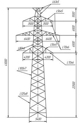 Промежуточные-опоры-П-220-1