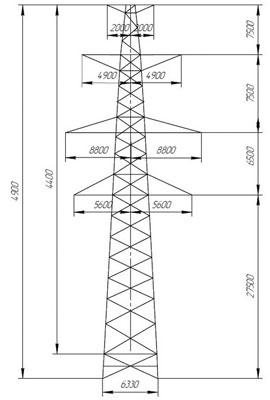 Промежуточные-опоры-П-330-1
